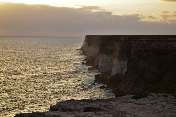 Sunset, Great Australian Bight, Nullarbor Plain