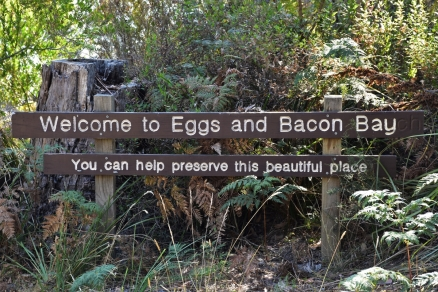 Eggs and Bacon Bay, Tasmania