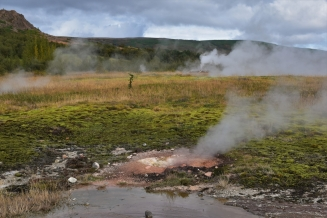 Hot springs, Geysir