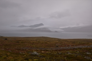 Fjords, East Iceland, clouds