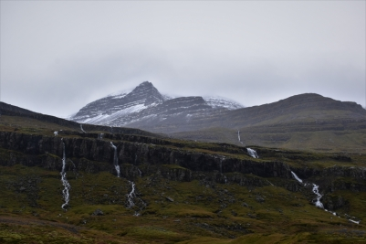Mountains, fjords, East Iceland