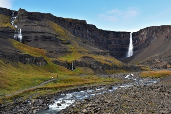 Hengifoss, waterfall