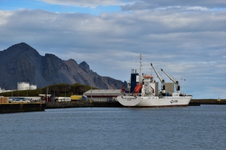 Höfn, harbour
