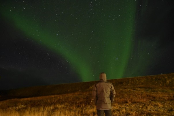 Northen lights, Myvatn