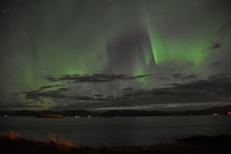 Northern lights in Höfn
