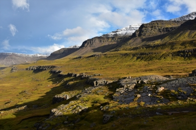 Seydisfjördur, mountains