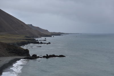 The coast of South-East Iceland