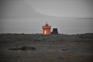 Lighthouse, south-east Iceland