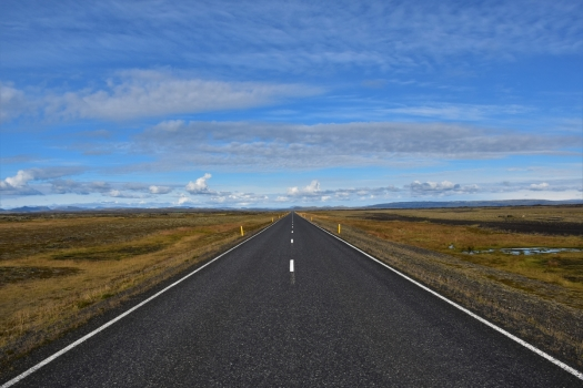 Iceland, road