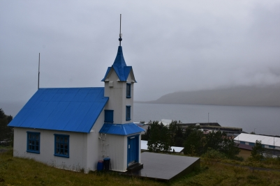 Stodvarfjördur, church