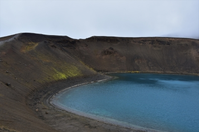 Viti Crater, lake, volcano