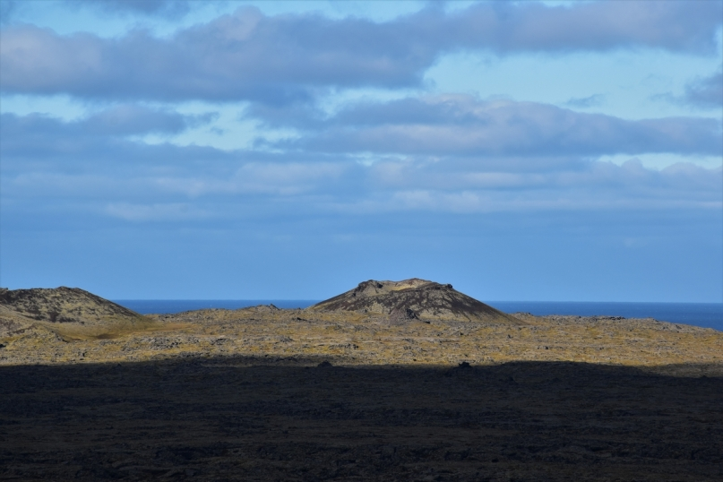 Snaefellsnes Peninsula, craters