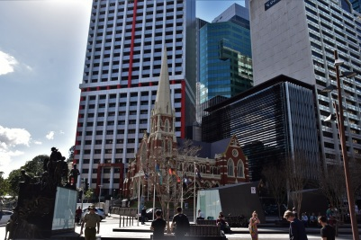 The center of Brisbane, church