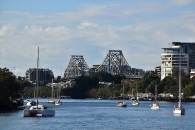 Brisbane River and the Story Bridge