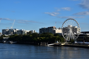 Brisbane wheel, Southbank