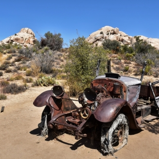 Joshua Tree National Park, car