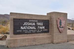 Joshua Tree National Park, entrance