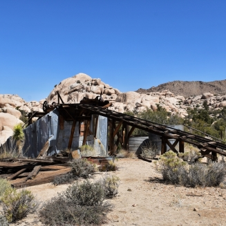 Joshua Tree National Park, stamp mill