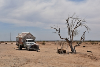 Truck, Salvation Mountain