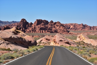Valley of Fire, road