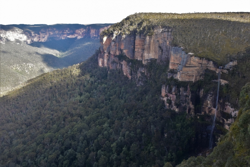 Blue Mountains, Govetts Leap Fall