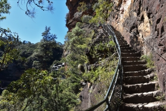 Blue Mountains, hike, stairs