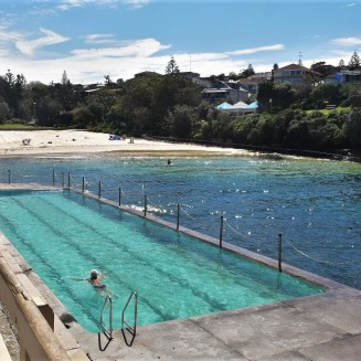 Bondi to Coogee walk, Clovelly Beach
