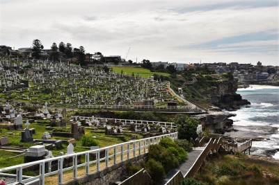 Waverley Cemetery, Bondi to Coogee walk
