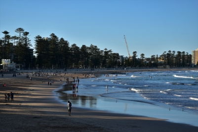 Manly beach, sunset