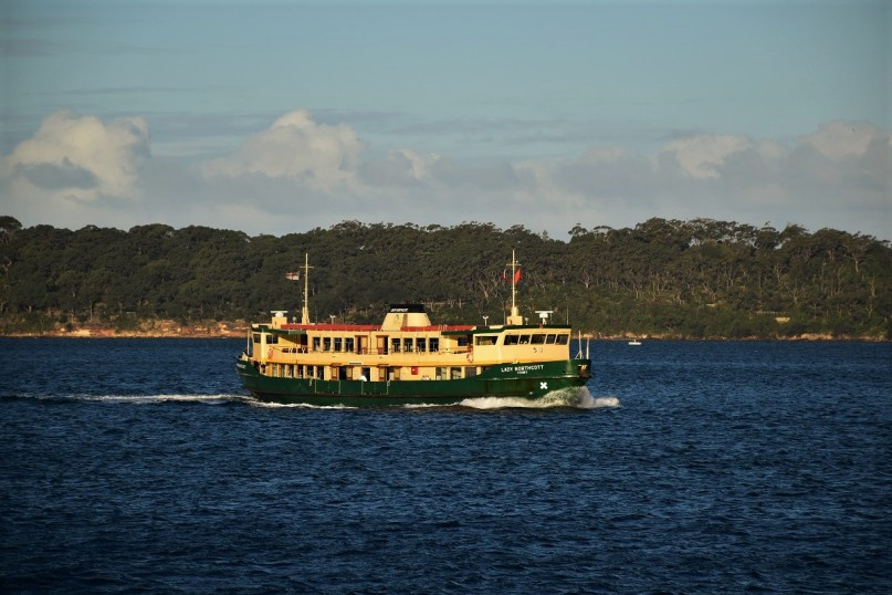 Sydney harbour, ferry