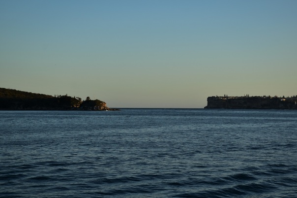 Sydney harbour, entrance
