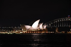 Sydney Opera House, night