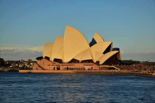 Sydney Opera House, sunset