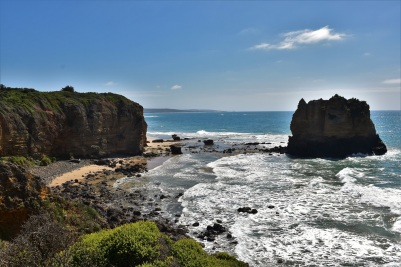 Great Ocean Road, Castle Rock, Split Point