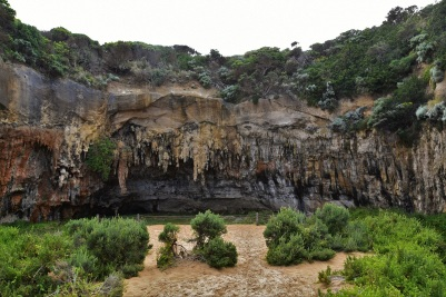 Great Ocean Road, Loch Ar Gorge, cave