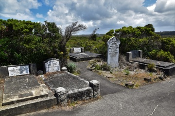 Great Ocean Road, Loch Ard Gorge, cemetery