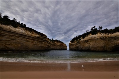Great Ocean Road, Loch Ard Gorge, clouds