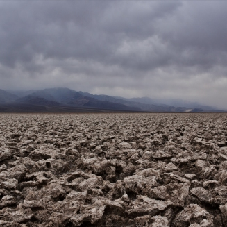 Death Valley, Devil's Golf Course