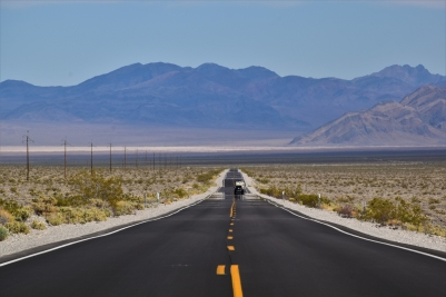 Death Valley, road