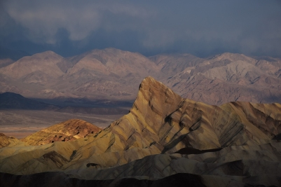 Death Valley, Zabriskie Point, sunrise