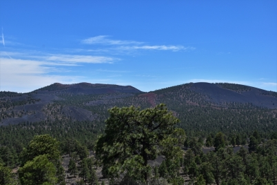 Sunset Crater Volcano National Monument, Cinder Hills Overlook