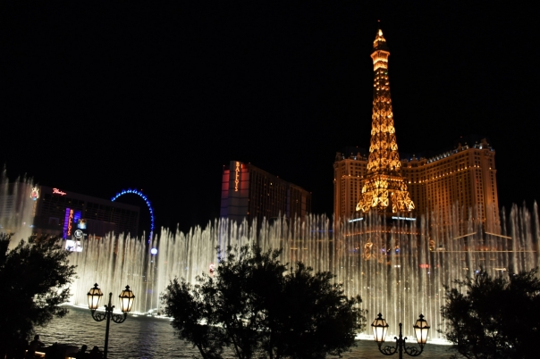 Las Vegas, the Bellagio, fountains