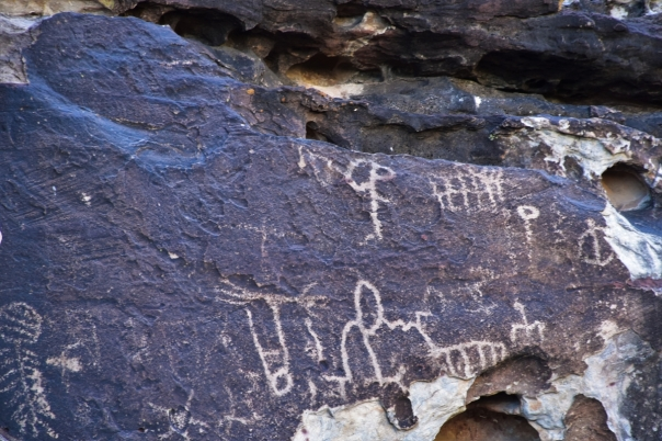 Petroglyphs, Red Rock Canyon