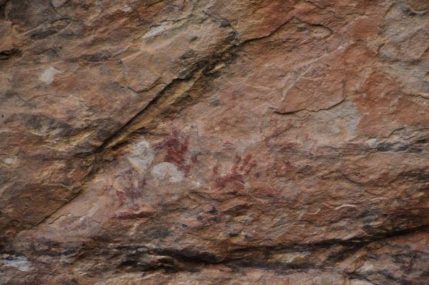 Red Rock Canyon, pictographs