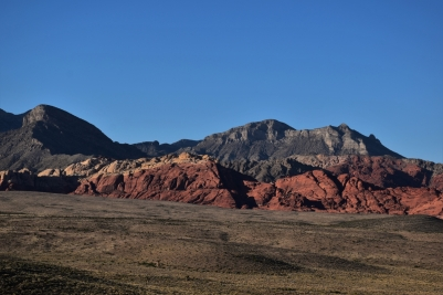 Red Rock Canyon, sunset