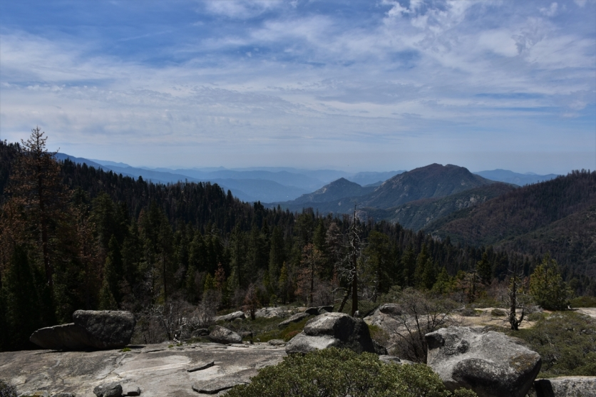 Sequoia National Park, lookout