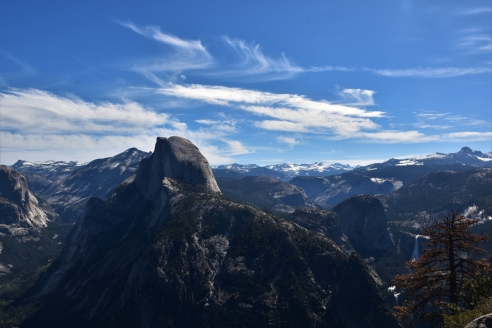 Yosemite, Half Dome, Panorama Trail