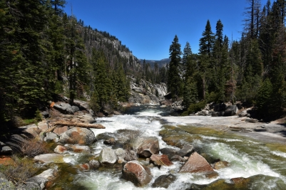 Yosemite, Illilouette Creek, Panorama Trail
