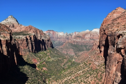 Zion, Canyon Overlook