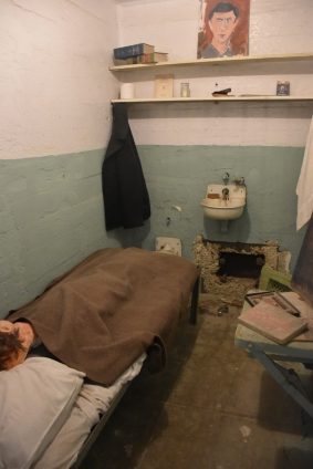 Reconstituted cell in Alcatraz, San Francisco